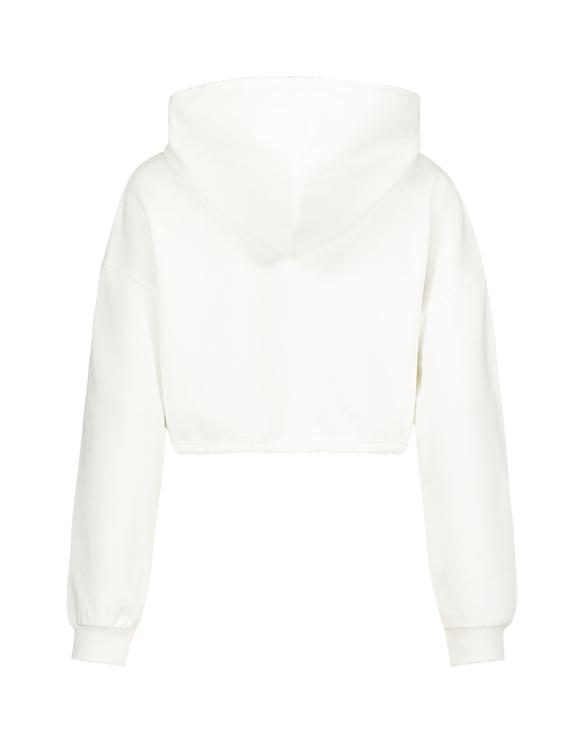 Sweat Blanc avec Cordon de Serrage