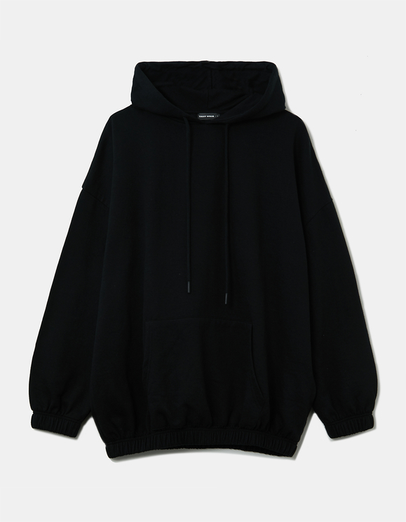 Black Oversize Hoodie