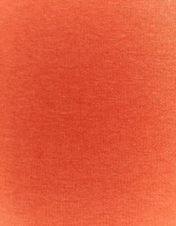 Sweat à Capuche Oversize Orange