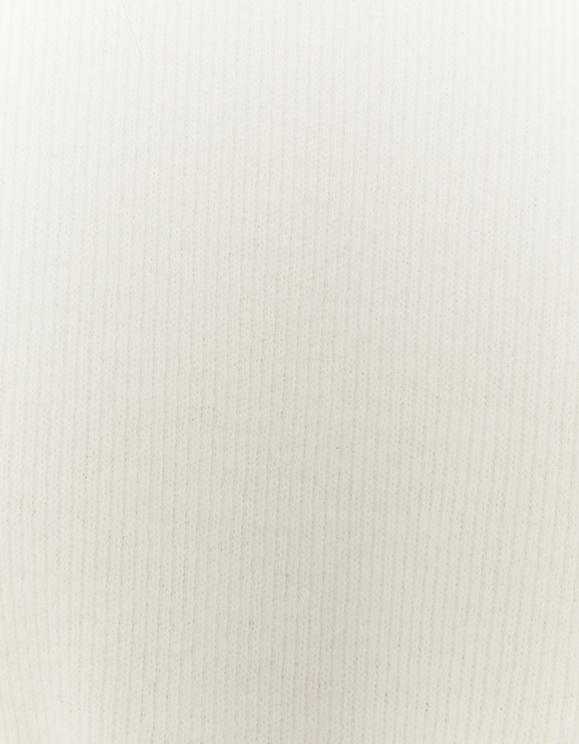 Sweat en Maille Blanc