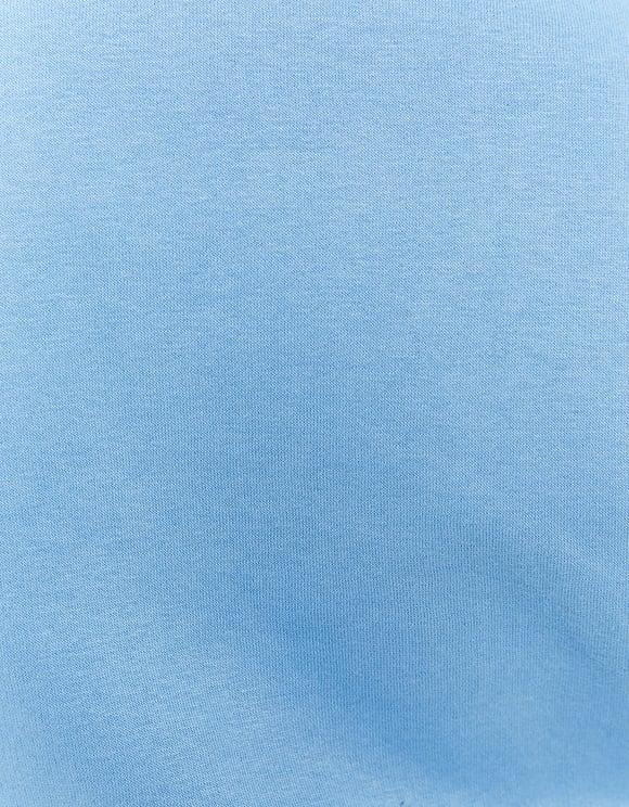 Felpa con Cappuccio Blu