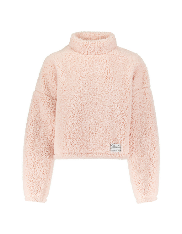 Light Pink Fluffy Sweatshirt