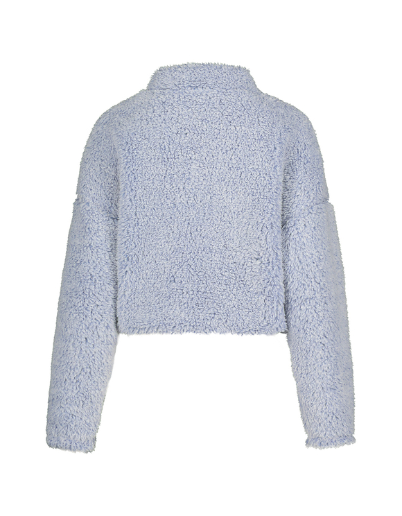 Sweat Bleu Duveteux