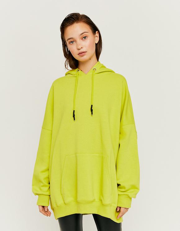 Green Oversize Sweatshirt
