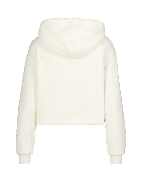 Sweat à Capuche Blanc