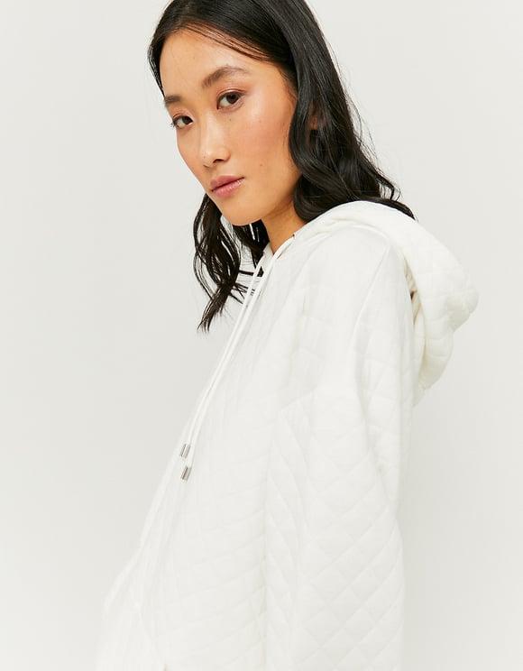 White Waffle Sweatshirt