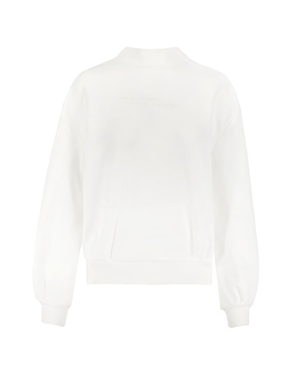 Sweat Blanc Brodé