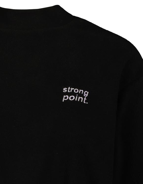 Sweat Noir en Polaire