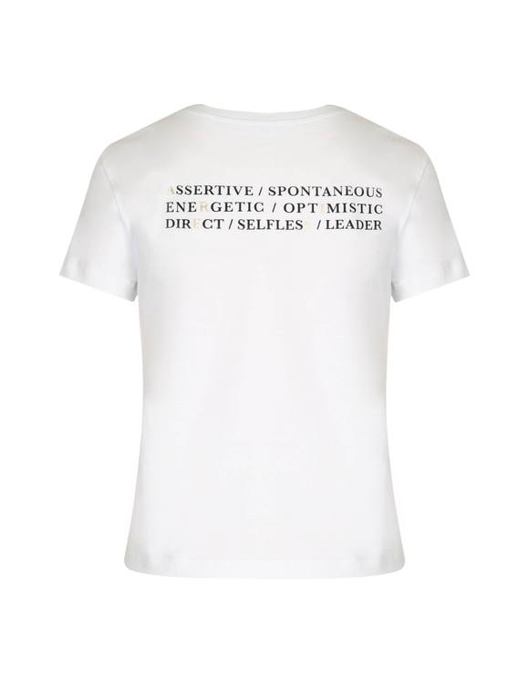 "T-Shirt Blanc ""Bélier"""