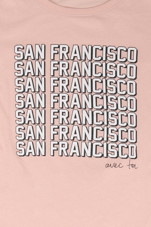 "Rosa T-Shirt ""San Francisco"""