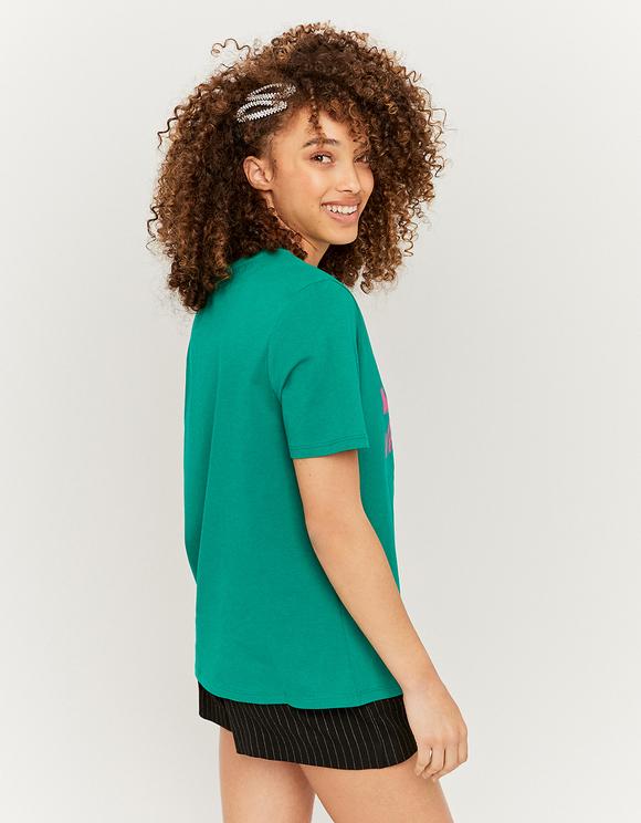 Boyfriend Shape Printed T-Shirt