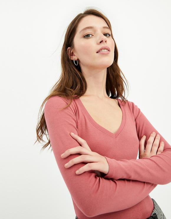 T-shirt Rosa Basica