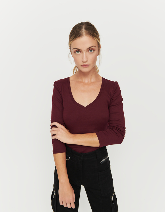 Bordeaux Basic Top