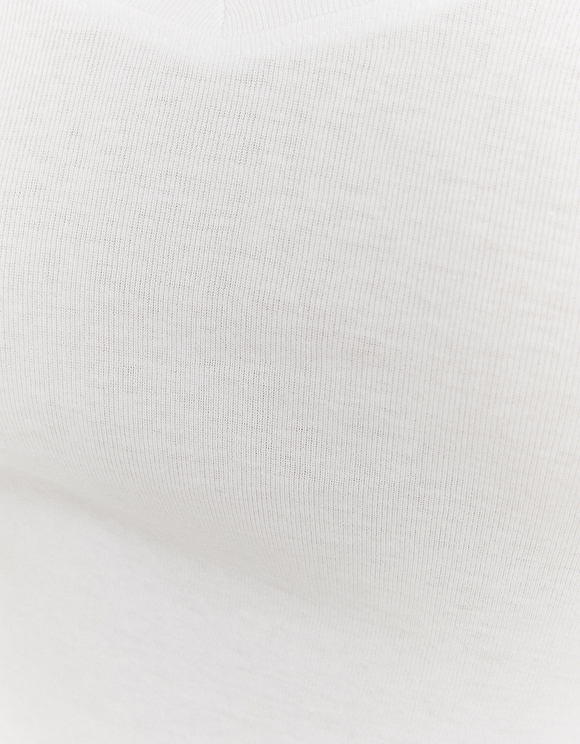 Weißes Basic Top