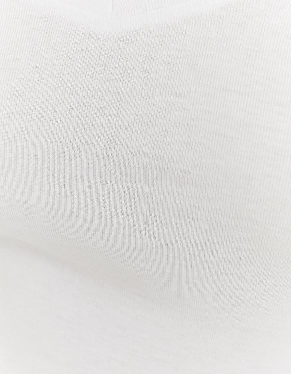 Top Basico Bianco