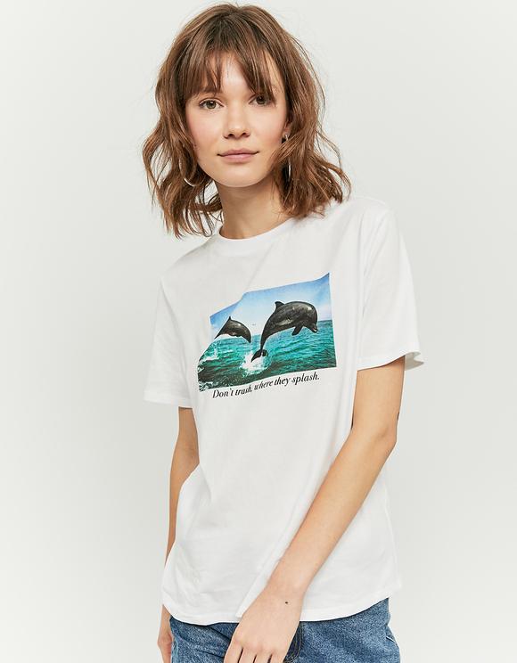 White Organic T-Shirt