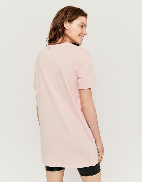 T-Shirt Robe Rose