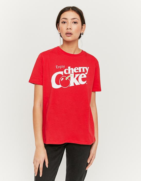 "Rotes T-Shirt ""Cherry Coke"""