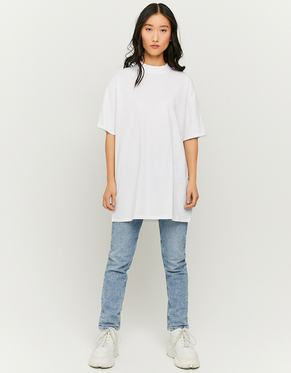 White Oversize T-Shirt
