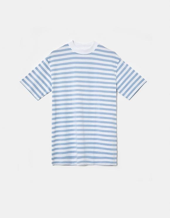 Gestreites Oversize T-Shirt