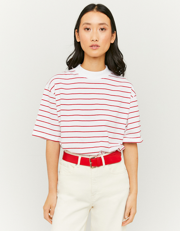 White Striped T-Shirt