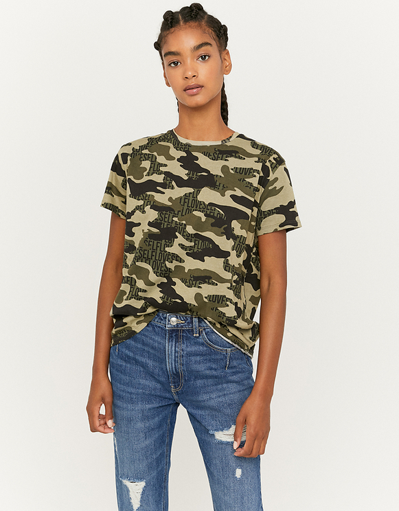 Camouflage Loose T-Shirt