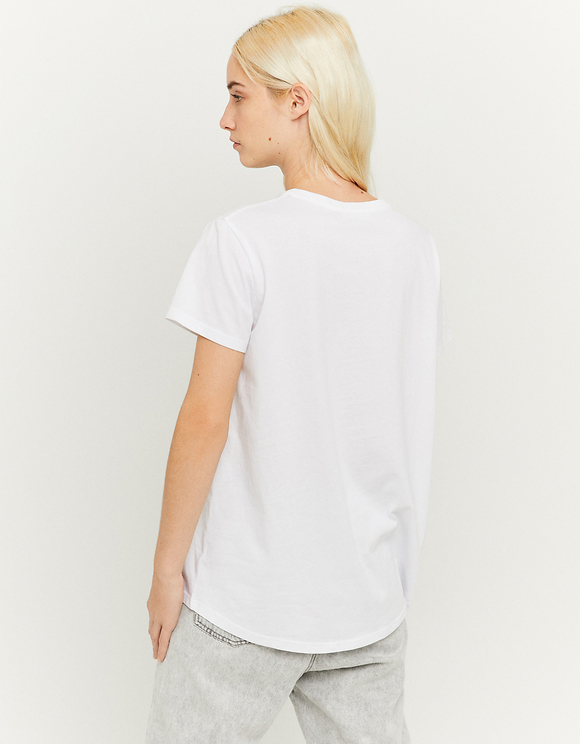 White Loose T-Shirt