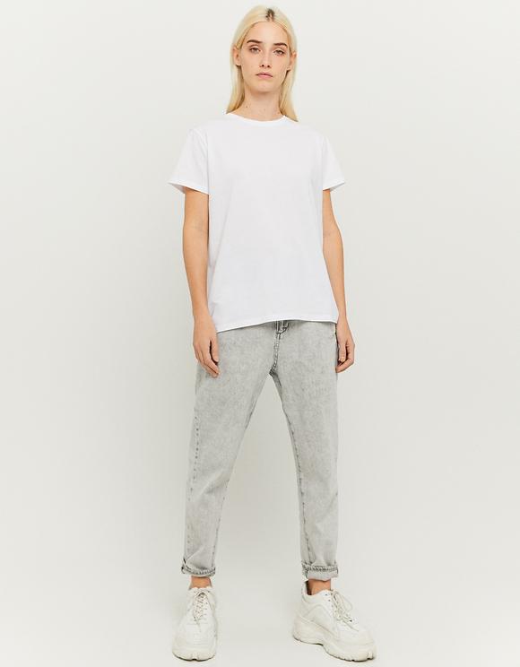 Maglietta Bianca Larga