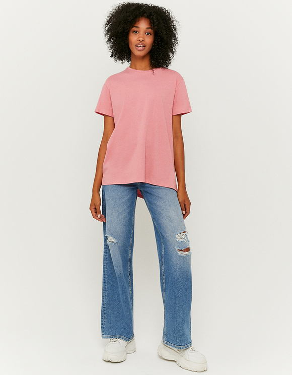Pink Oversize T-Shirt