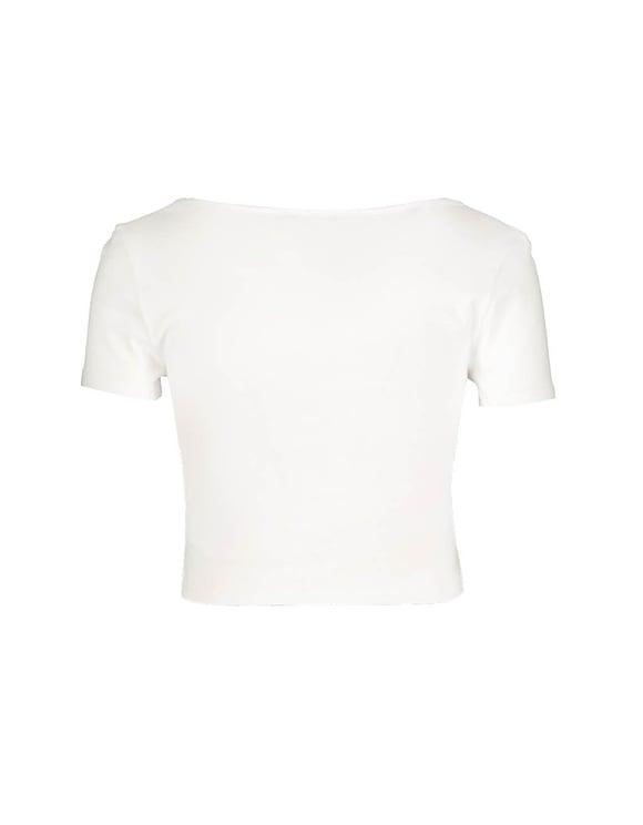 Top Corto Bianco