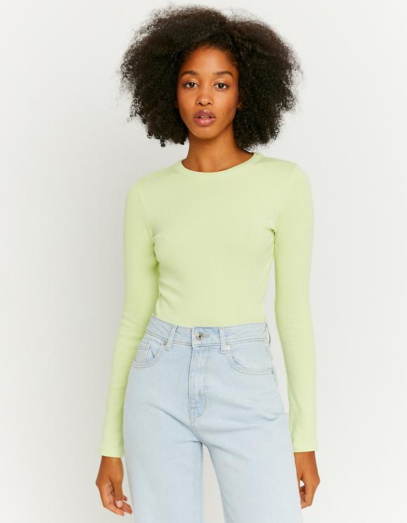 Light Green Basic Top