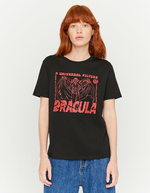 Dracula Print T-Shirt