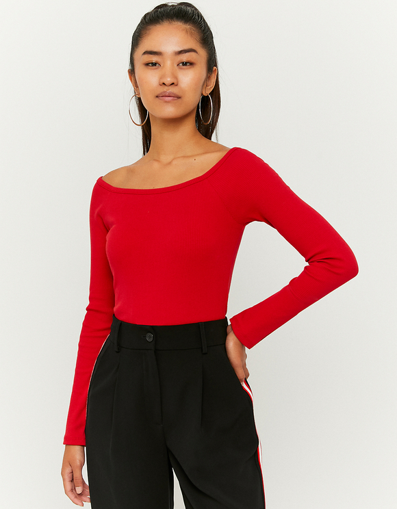 Red Basic Top