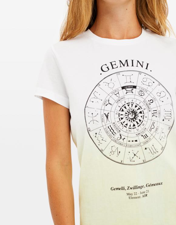 "T-shirt Bianca ""Gemelli"""