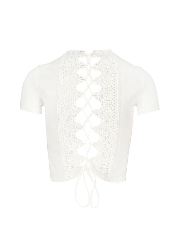 Top Dos en  Dentelle & Crochet