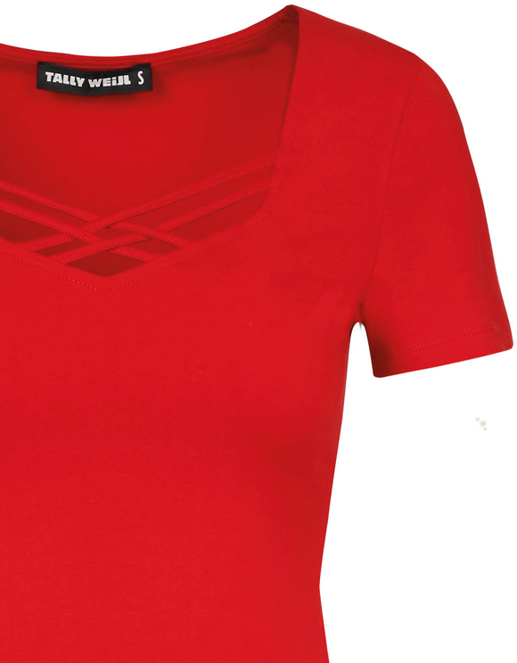 Red Cross Front T-Shirt