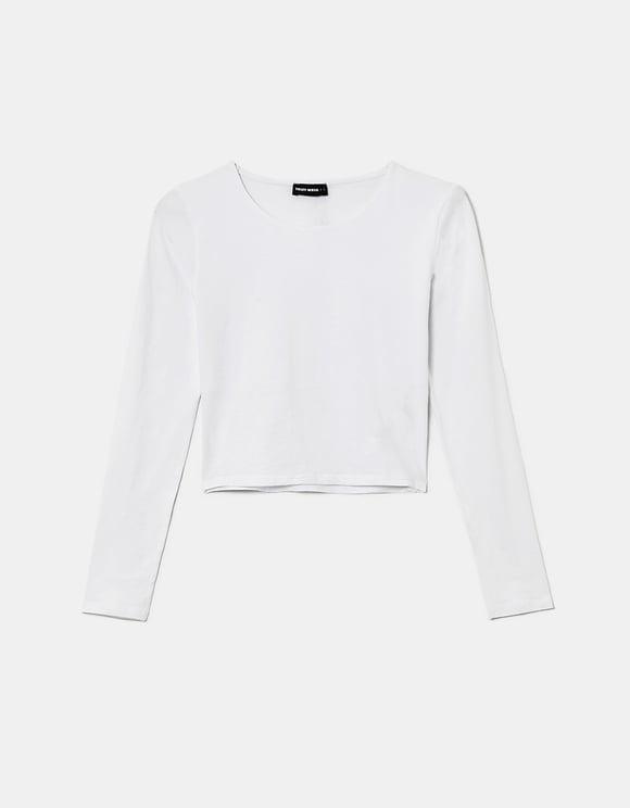 White Basic Top