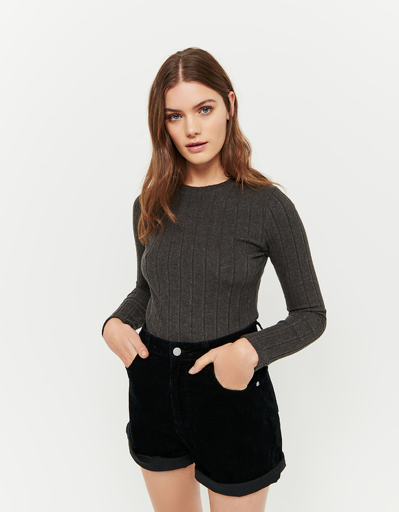 Dark Grey Top