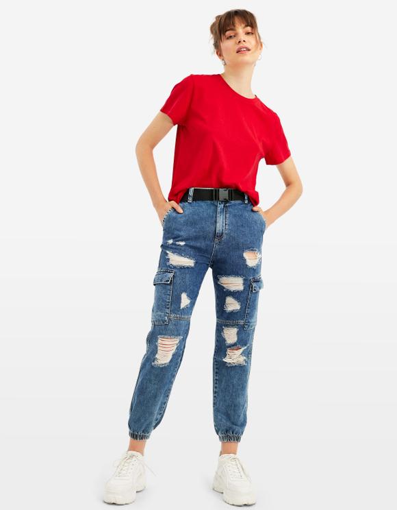 T-Shirt Rouge Basique