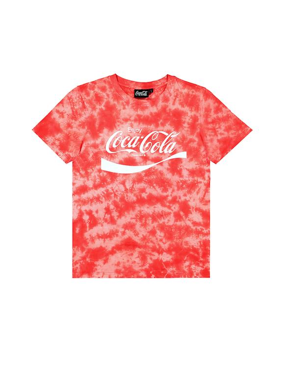 T-Shirt Délavé Coca Cola