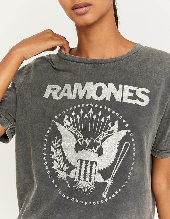 T-Shirt Gris Ramones