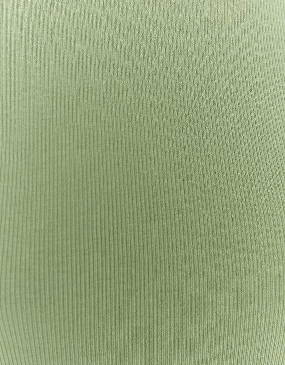 Top Basique Vert