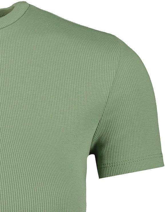 Green Crop Top