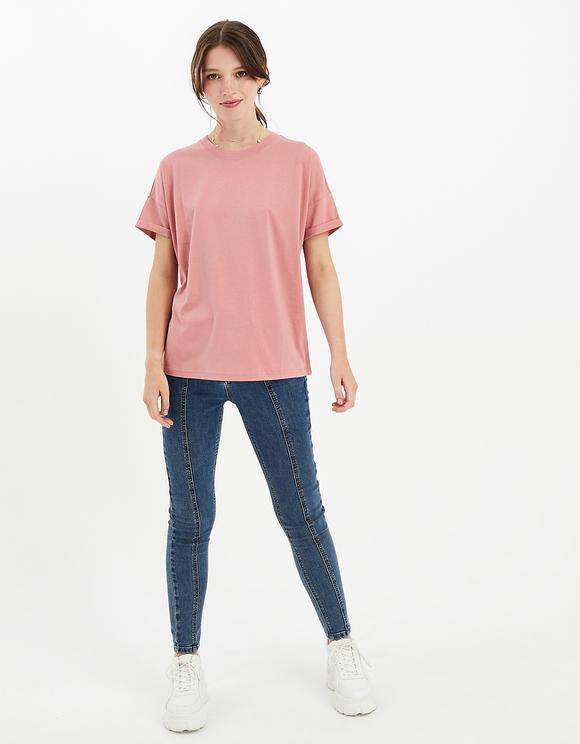 Pink Basic T-Shirt