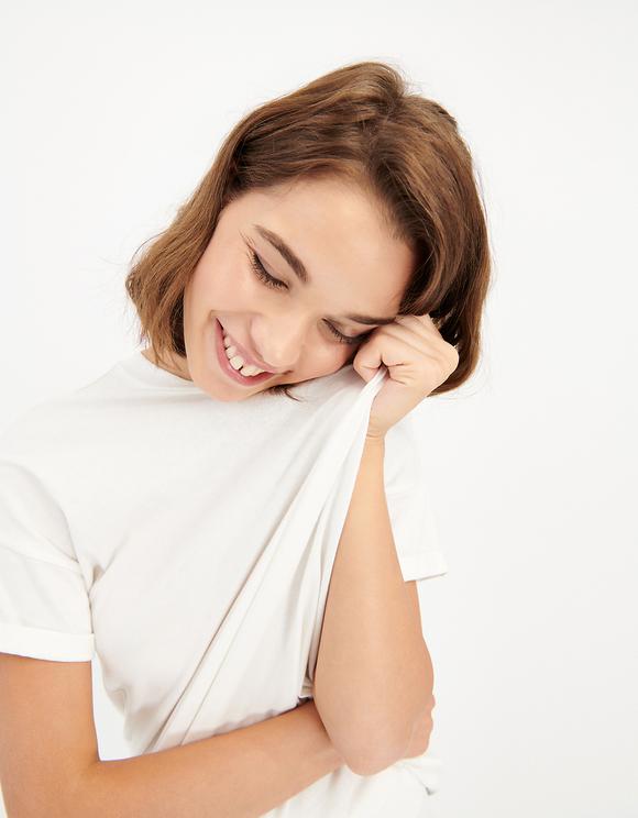 T-shirt Bianca Basica