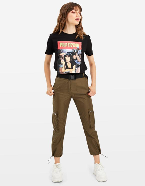 T-Shirt Noir Pulp Fiction