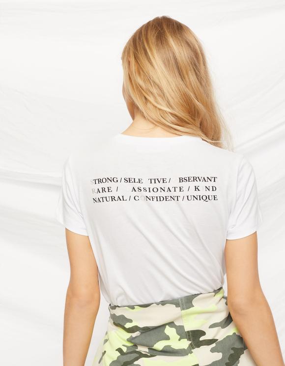 """""""Scorpio"""" White T-Shirt"""