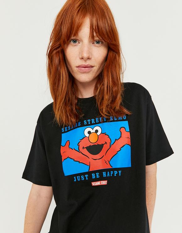 "T-Shirt Stampata ""Sesame Street"""