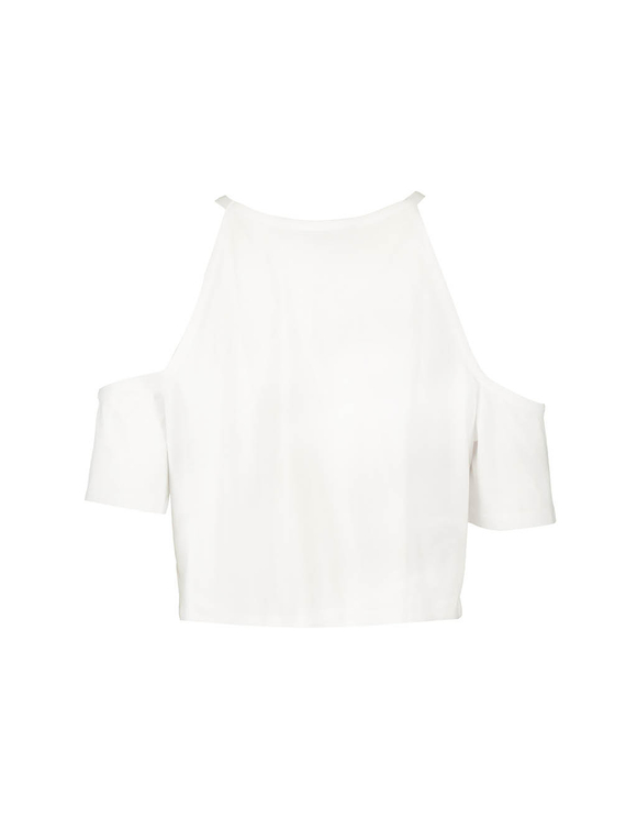 Cut Away Sleeve Top