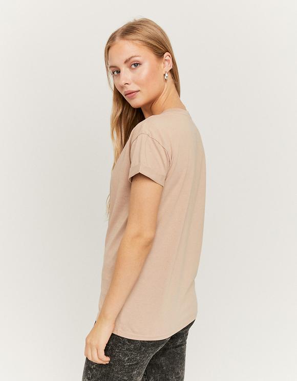 T-Shirt Basique Beige